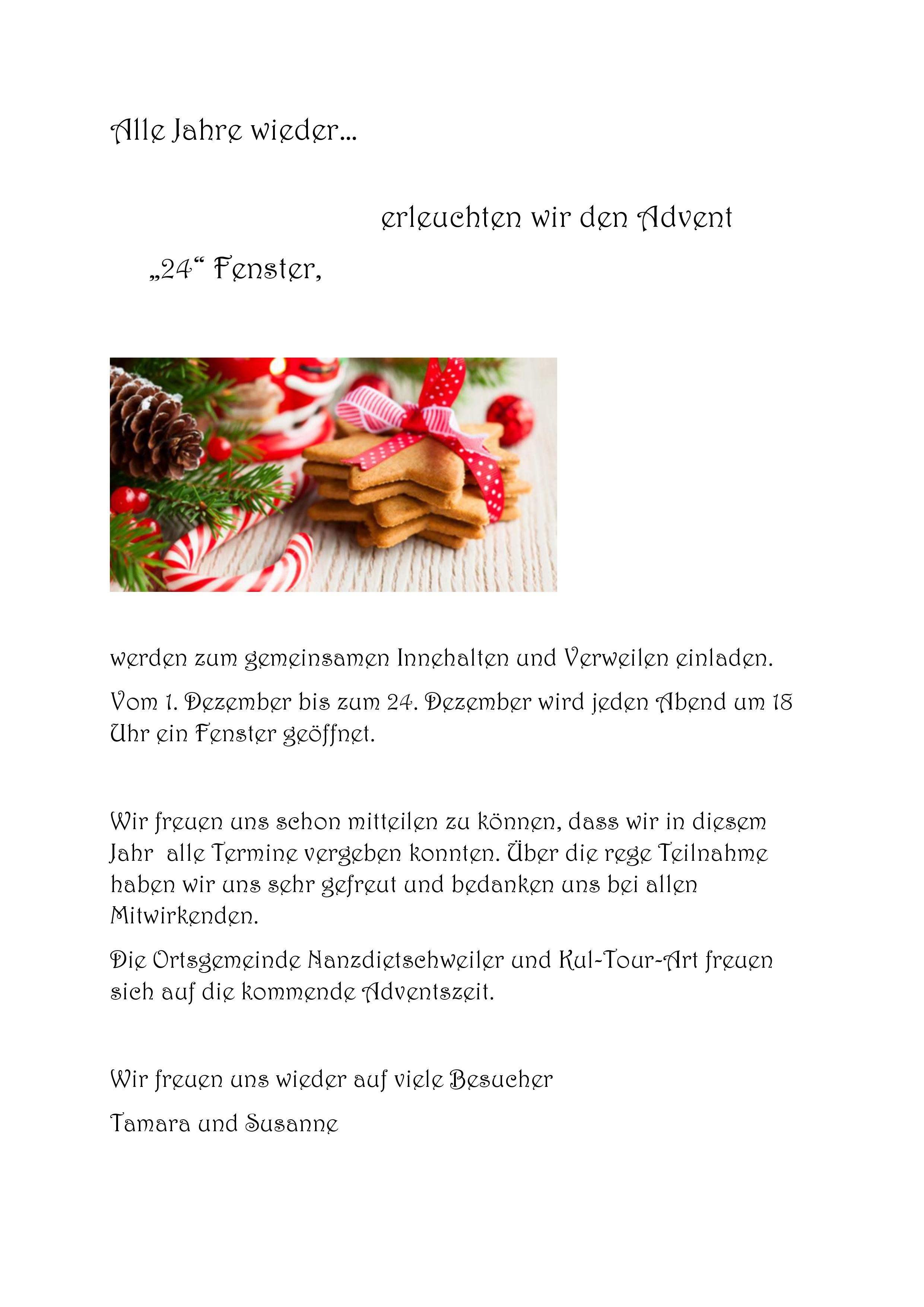 2019 11 13 Adventseinleitung