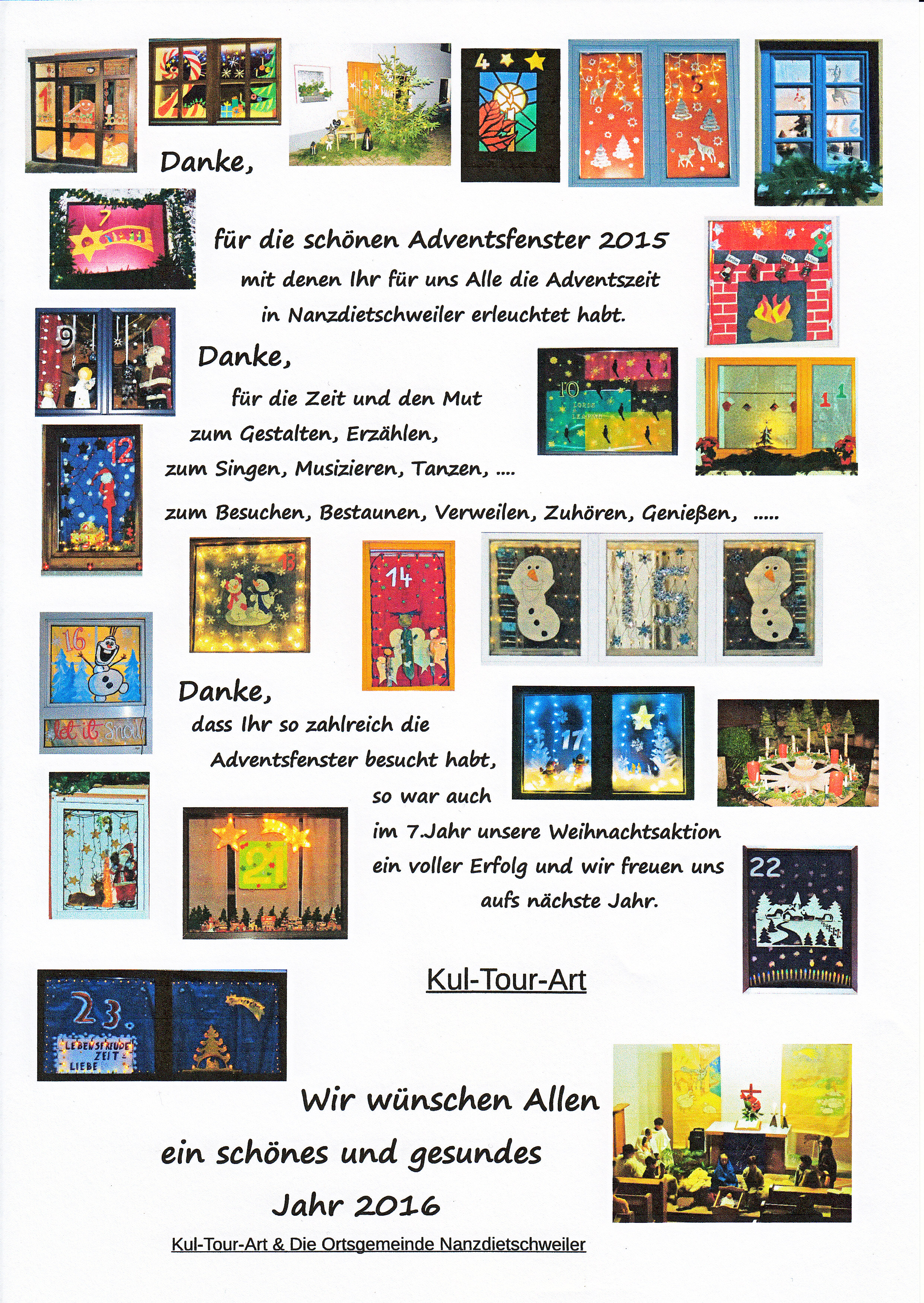 2015 Danke Adventskalender 2015
